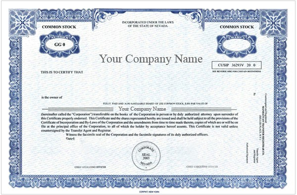 Corporate Bond Certificate Template (1) - Templates Example inside Corporate Bond Certificate Template