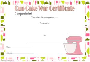 Cupcake Wars Certificate Free Printable 1   Certificate throughout Cupcake Certificate Template Free 7 Sweet Designs