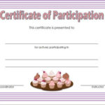 Cupcake Wars Certificate Of Participation Free 2 | Cupcake With Certificate For Baking 7 Extraordinary Concepts