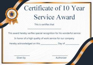 Customer Service Award Certificate: 10 Templates That Give with Merit Certificate Templates Free 10 Award Ideas