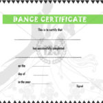 Dance #Certificate #Template | Free Printable Certificate With Regard To Quality Dance Award Certificate Templates