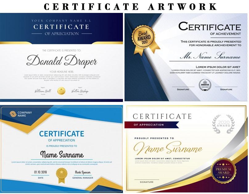 Design Professional Certificate, Award Certificate Template with Professional Award Certificate Template