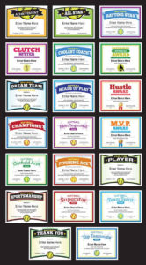Designer Softball Team Award Certificates | Sports Feel Good inside Softball Award Certificate Template