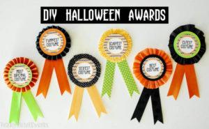 Diy Halloween Costume Award! (Prize Ribbons) pertaining to Fresh Halloween Costume Certificates 7 Ideas Free