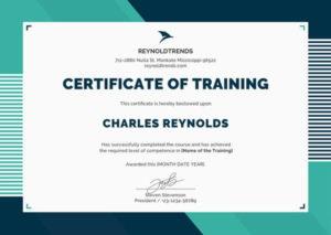 Doc, Psd, Ai, Indesign | Free & Premium Templates | Training pertaining to Training Course Certificate Templates