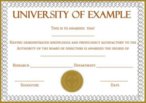 Doctorate Certificate Template Archives – Template Sumo intended for Fresh Doctorate Certificate Template