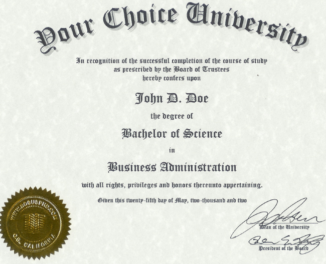 Doctorate Degree: Fake Doctorate Degree Template inside Doctorate Certificate Template