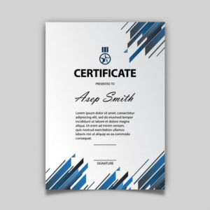 Download Elegant Certificate Template For Free | Certificate pertaining to Elegant Certificate Templates Free