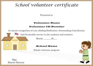 Download Volunteer Certificates The Right Way (19 Free Word within Outstanding Volunteer Certificate Template