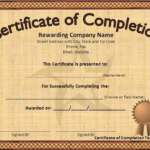 Downloadable Certificate Templates For Microsoft Word (6 Pertaining To Downloadable Certificate Templates For Microsoft Word