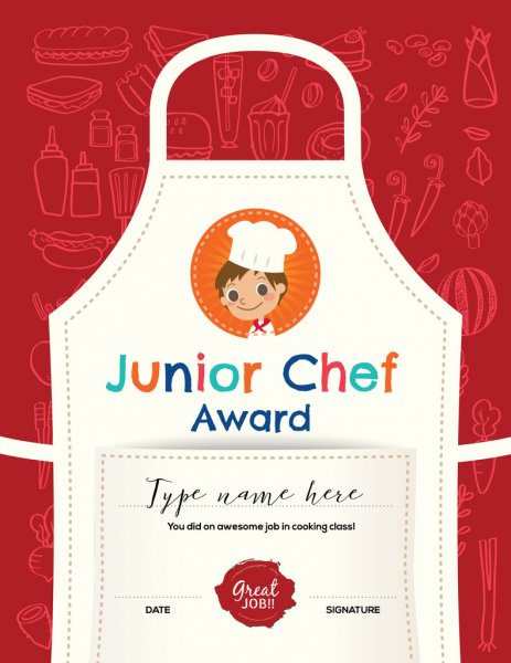 ᐈ Cooking Contest Certificate Template Stock Vectors for Cooking Competition Certificate Templates