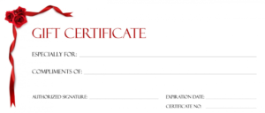 Editable Blank Tattoo Gift Certificate Template Tattoo Gift pertaining to Tattoo Gift Certificate Template Coolest Designs