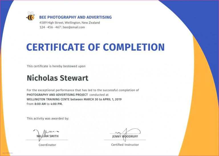 Editable √ Fall Protection Training Certificate Template in Best Fall Protection Certification Template