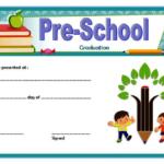 Editable Preschool Graduation Certificate Template Free 3 With Editable Pre K Graduation Certificates
