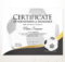 Editable Soccer Football Certificate Template Sport | Etsy intended for Football Certificate Template
