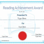Education Certificates – Certificate Of Reading Achievement Intended For Quality Reading Achievement Certificate Templates