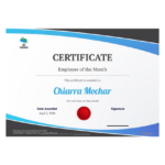 Employee Of The Month Certificate Template – Pdf Templates Throughout Unique Employee Of The Month Certificate Template Word