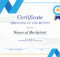 Employee Of The Month Certificate throughout Employee Of The Month Certificate Template With Picture