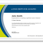 Employee Recognition Certificate Templates – Free Online Tool Intended For Unique Recognition Of Service Certificate Template