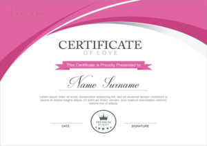 Entry #13Bhumishah312 For Design A Love Certificate for Love Certificate Templates
