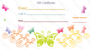 Event Gift Certificate Template pertaining to Quality Mothers Day Gift Certificate Template
