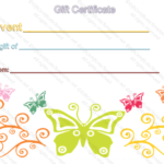 Event Gift Certificate Template Within Mothers Day Gift Certificate Templates