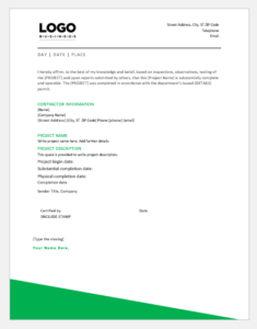 Extensions » Extensions with Best Certificate Of Construction Completion Template