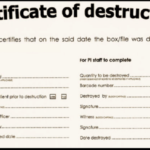 🥰5+ Free Certificate Of Destruction Sample Templates🥰 Inside Destruction Certificate Template
