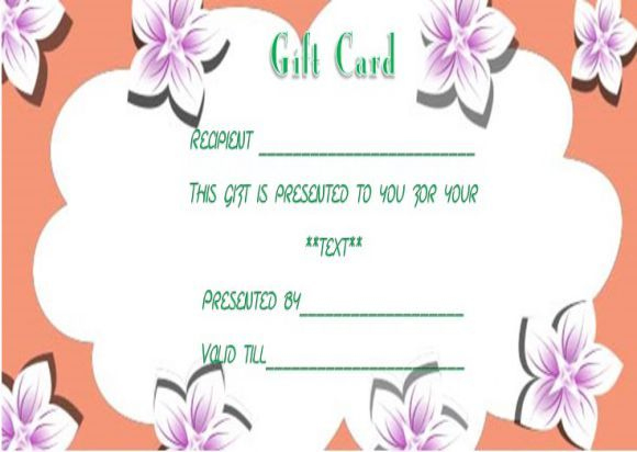 Facial Gift Certificates Template | Gift Certificate pertaining to Spa Day Gift Certificate Template