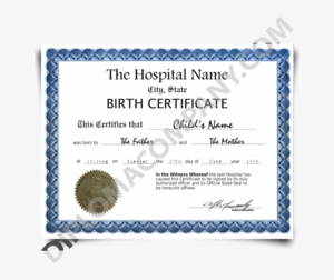 Fake Birth Certificate – Fake Birth Certificate Uk – 650X650 throughout Novelty Birth Certificate Template