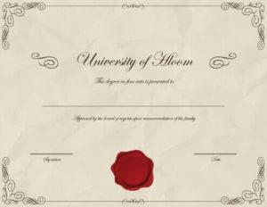 Fake Degree Certificate Template (7031 Downloads) – Free with regard to Fake Diploma Certificate Template