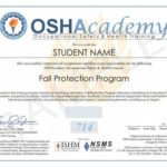 Fall Protection Certification Template | Occupational Health Inside Best Fall Protection Certification Template