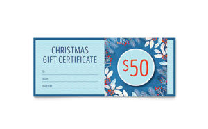 Family Portrait Gift Certificate Template Design intended for Gift Certificate Template Publisher