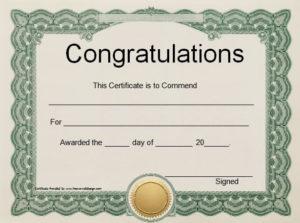 Felicitation Certificate Template | Certificate Of intended for Felicitation Certificate Template