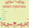 Festive Decorating Christmas Gift Certificate Template within Fresh Merry Christmas Gift Certificate Templates