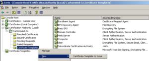 Finding Certificate Template In Certificate Authority inside Quality Certificate Authority Templates