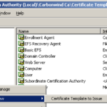 Finding Certificate Template In Certificate Authority intended for Active Directory Certificate Templates