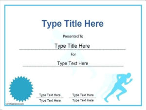 Finisher Certificate Template Cross Country Templates inside Quality Finisher Certificate Template