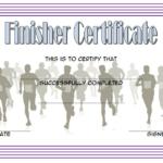 Finisher Certificate Template Free 5 | Certificate Templates Throughout Finisher Certificate Templates