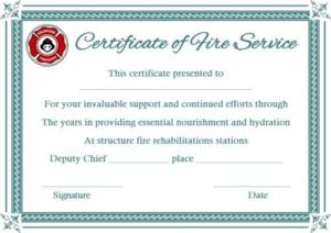 Fire Extinguisher Certificate Template (2) – Templates with Unique Fire Extinguisher Training Certificate