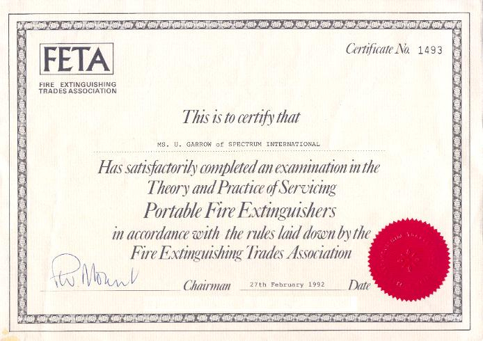 Fire Extinguisher Training Conductedsam Fire Llc A with Unique Fire Extinguisher Training Certificate