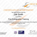 Fire Extinguisher Training Course Regarding Unique Fire Extinguisher Training Certificate