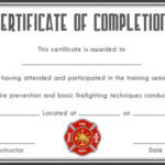 Fire Safety Certificate: 10+ Safety Certificate Templates For Best Firefighter Training Certificate Template
