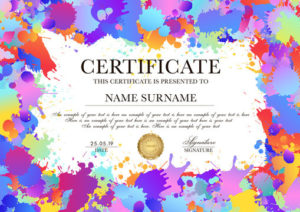 First Place Certificate Photos, Royalty-Free Images with First Place Certificate Template