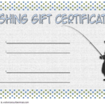 Fishing Gift Certificate Template Free (1St Design) In 2020 Intended For Best Fishing Gift Certificate Editable Templates