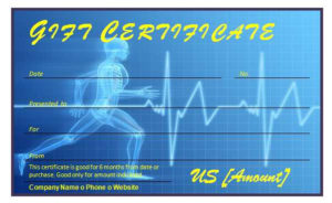 Fitness Gift Certificate » Officetemplates for Quality Fitness Gift Certificate Template