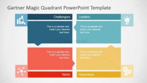 Flat Gartner Magic Quadrant For Powerpoint – Slidemodel regarding Gartner Certificate Templates