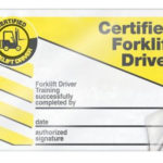 Forklift Certification Cards | Certificate Templates, Card In Forklift Certification Card Template