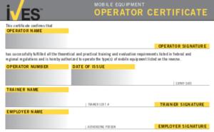 Forklift License Template Wallet Size – Nextinvitation inside Forklift Certification Card Template