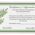Formal Certificate Of Appreciation Template (2) – Templates With Regard To Best Formal Certificate Of Appreciation Template